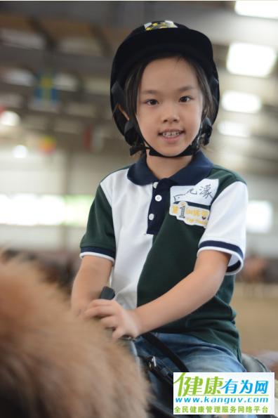 学骑马是婉儿自己的选择