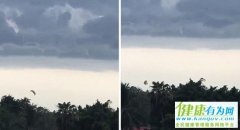 美国女子乘滑翔伞庆生 绳索断裂高空坠落受重伤
