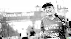 91岁老人破马拉松纪录