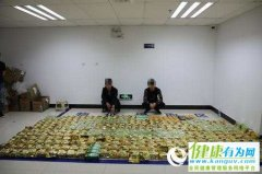 云南普洱警方再破特大走私贩毒案 348公斤毒品铺满地