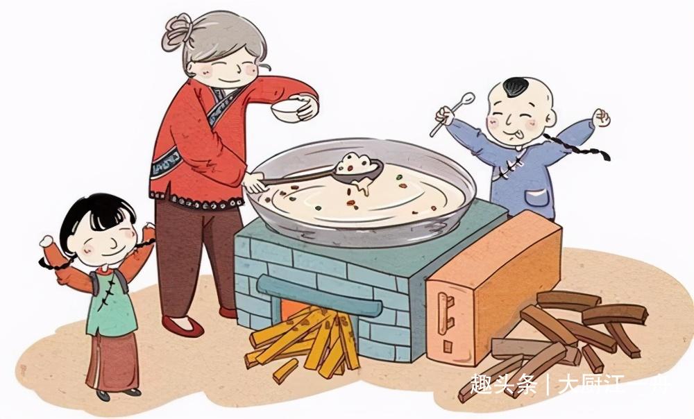 熬腊八粥时,这5种食材不能少,老一辈人讲究阖家团圆,吉祥如意