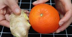 橙子皮和生姜放一起,想不到这么厉害